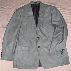 Men's grey summer weight sports coat